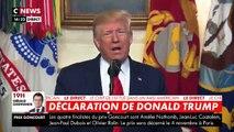Donald Trump annonce la mort du chef de l'Etat Islamique Abou Bakr al-Baghdadi qui a actionné sa ceinture explosive