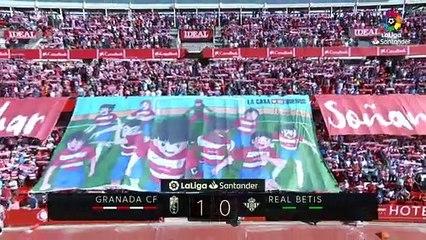Granada 1-0 Betis: Resumen del partido