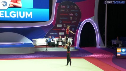 2019 European Age Group Competitions in Acrobatic Gymnastics - Holon (ISR) (5)