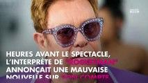 Elton John endeuillé : il annule un concert à la dernière minute
