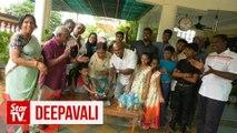Bodybuilder Mike Mahen celebrates Deepavali with family