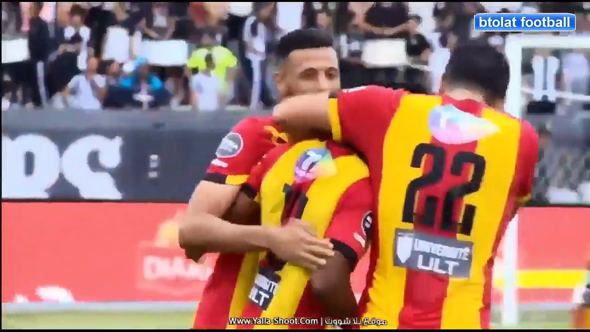 ملخص كامل مباراة الترجي التونسي والنادي الصفاقسي 2-0 مباراة نارية