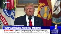Donald Trump annonce la mort du chef de Daesh (1/2) - 27/10
