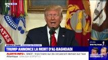 Donald Trump annonce la mort du chef de Daesh (2/2) - 27/10