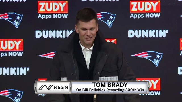 Tom Brady Patriots vs. Browns Week 8 Postgame Press Conference