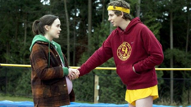 Juno movie (2007) Ellen Page, Michael Cera, Jennifer Garner