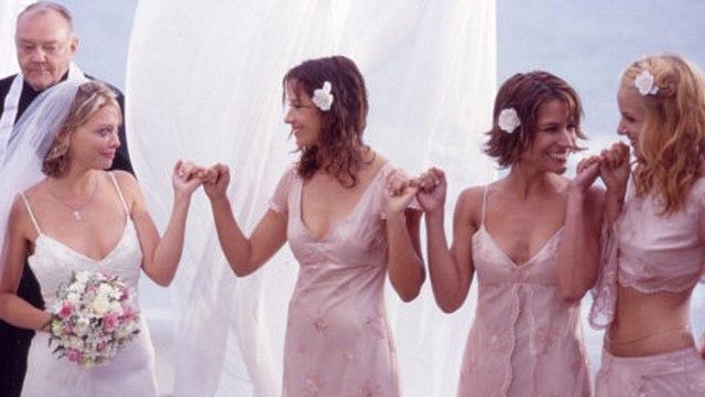Kiss the Bride Movie (2002) Amanda Detmer, Sean Patrick Flanery, Brooke Langton