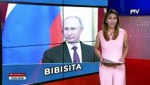 Russian Pres. Vladimir Putin, bibisita sa Pilipinas