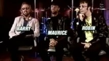 Barry Gibb, Robin Gibb and Maurice Gibb in Interview Brazil Dublado