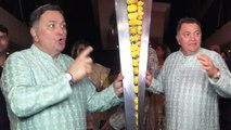 Rishi Kapoor LASHES OUT at media in Ekta Kapoor Party; Watch video | FilmiBeat