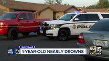 Boy in critical condition after being pulled from pool in Glendale