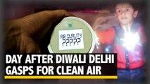 Post Diwali Air Pollution in Delhi