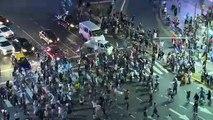 Les Argentins célèbrent la victoire présidentielle du péroniste Fernandez