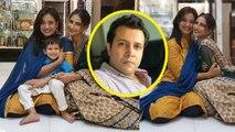 Shweta Tiwari celebrates Diwali without husband Abhinav Kohli; Check out | FilmiBeat