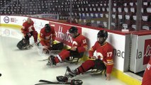 Calgary Flames sponsor sledge hockey team for USA Hockey Sled Classic.