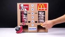 DIY How to Make KFC and McDonald's Vending Machine