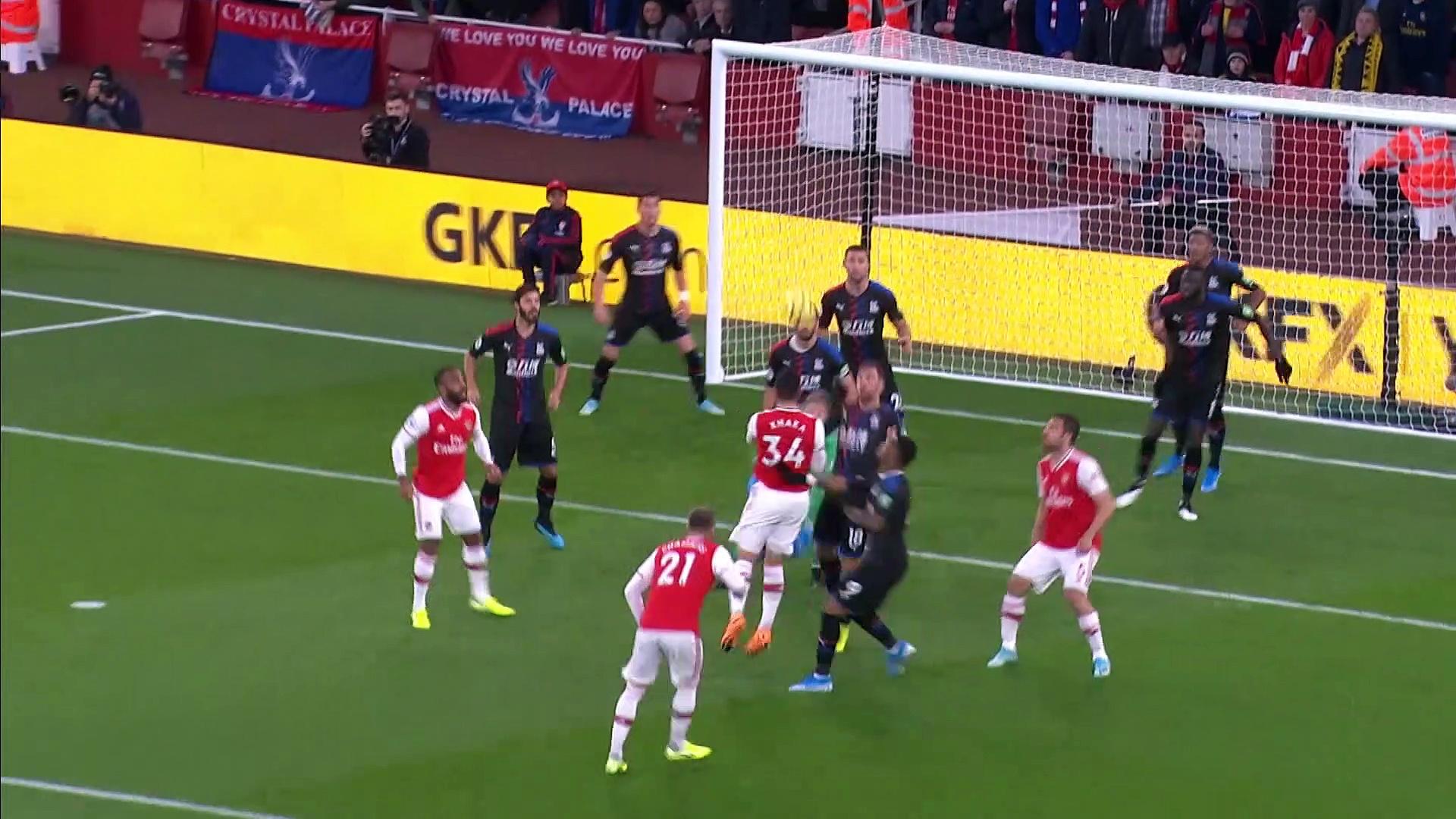 10. Hafta / Arsenal - Crystal Palace: 2-2 (Özet)