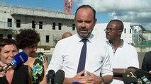 Visite du Premier ministre sur le chantier du prochain CHU de la Guadeloupe