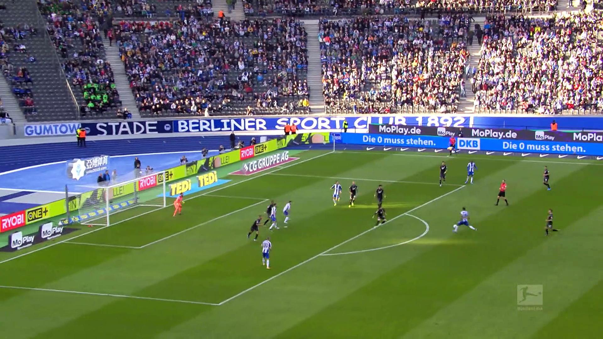 9. Hafta / Hertha Berlin - Hoffenheim: 2-3 (Özet)