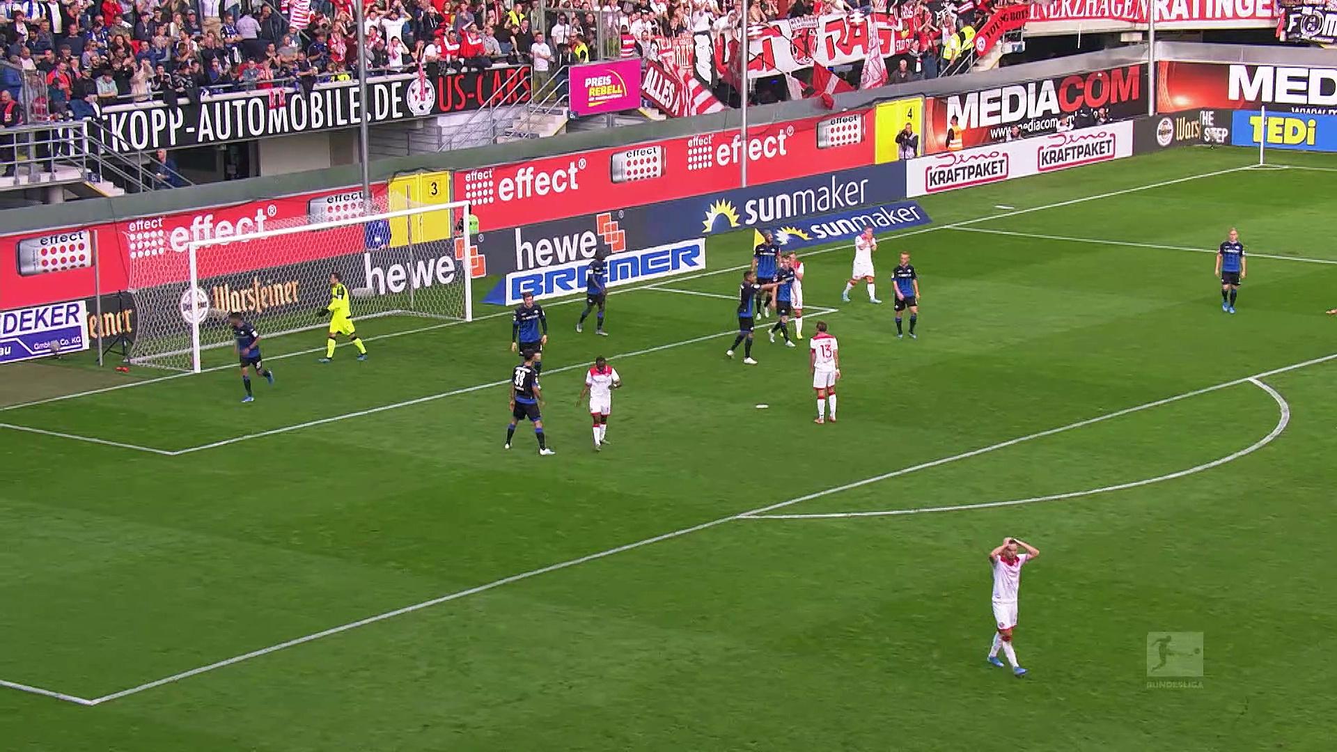 9. Hafta / Paderborn - Fortuna Düsseldorf: 2-0 (Özet)