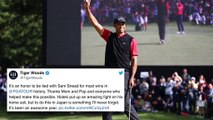 Tiger Woods Wins 82nd PGA Tour Event, Social Media Goes Crazy