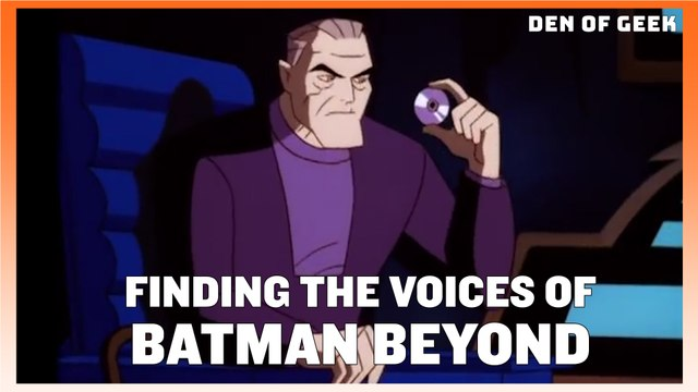 Developing The Voices of Animated Classic Batman Beyond