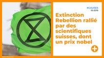 Extinction Rebellion rallié par des scientifiques suisses, dont un prix nobel