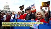 Jane Fonda de nouveau arrêtée pendant une manifestation pour le climat