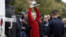 Jane Fonda bedankt sich bei Festnahme für Filmpreis
