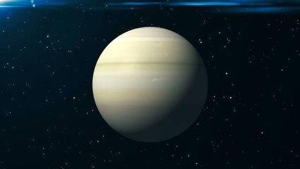 Die Ringe des Saturns verschwinden