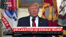 Donald Trump : «Abou Bakr al-Baghdadi est mort»