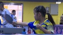 まるで中国版「卓球の愛ちゃん」!?5歳の卓球少女