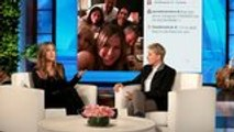 """Jennifer Aniston Opens Up About Joining Instagram: """"Why Not Join the Party?""""   THR News"""