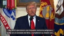 Donald Trump anuncia la muerte del Iíder de Estado Islámico, Abú Bakr al-Baghdadi