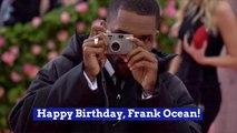 Frank Ocean Turns 32
