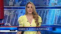 Se investiga la muerte de un hombre que fue encontrado ahorcado en Portoviejo