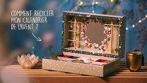 DIY Comment recycler votre Calendrier de l'Avent Yves Rocher ?