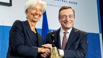 Elbúcsúzott Mario Draghi az EKB éléről