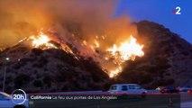 Californie : les feux se rapprochent de Los Angeles