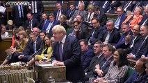 Boris Johnson ellen szavazott a brit parlament