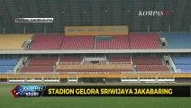 Stadion Gelora Sriwijaya Jakabaring Siap Jadi Tuan Rumah Piala Dunia 2021