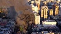 Santiago em chamas