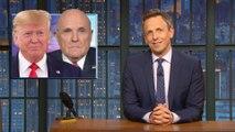 Rudy Giuliani Butt-Dials Reporter; Trump Booed at World Series: A Closer Look