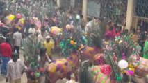 Villagers allow cows, bulls to run over them during 'Gaai Gohri' festival in Gujarat's Dahod
