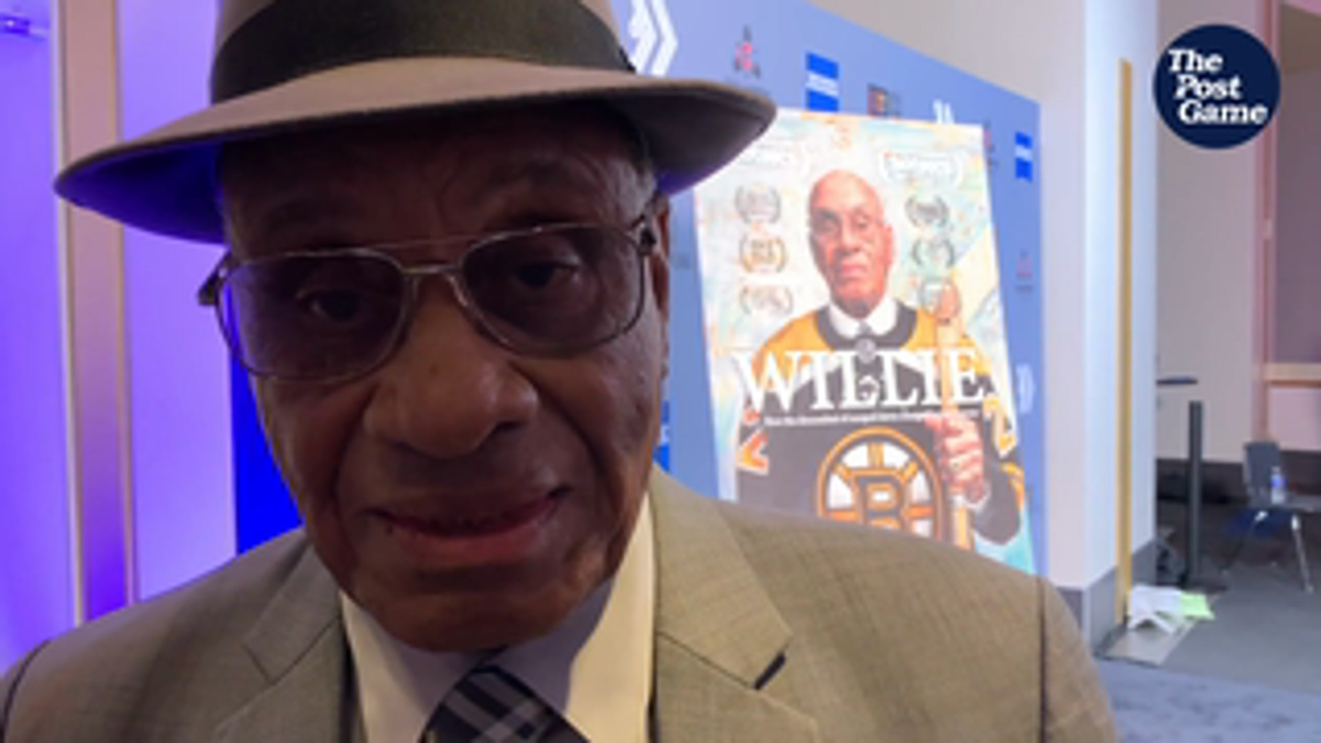 Willie O'Ree, The Jackie Robinson Of Hockey, Has Amazing Jackie Robinson Story