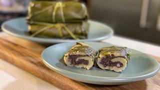 Tamales de frijol Negro con hoja santa - Cocina con Conexión - Sonia Ortiz con Juan Farré