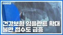 건강보험 임플란트 불만↑...초기 선택 중요 / YTN