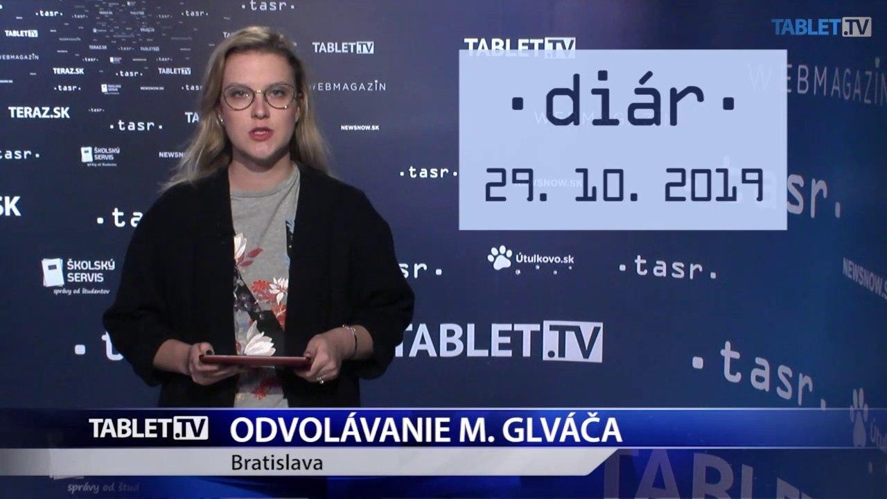 DIÁR: Podpredseda parlamentu M. Glváč bude čeliť odvolávaniu