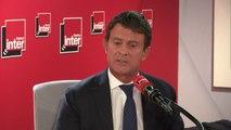 """Manuel Valls : """"Il y a un climat, avec ces théories venues de la droite la plus extrême, sur le grand remplacement, sur 'l'homme blanc menacé' qui font qu'aux États-Unis, en Nouvelle-Zélande, en France, des individus peuvent commettre le pire"""""""