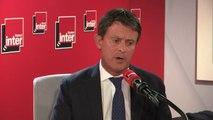 """Manuel Valls : """"Ce qui me frappe, avec ma part de responsabilité, c'est que dans ce climat sort un sondage qui montre que les Français considèrent la laïcité en danger : l'image de l'islam en sort défigurée et l'extrême-droite en sort renforcée"""""""